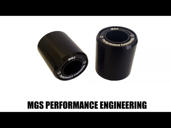 Motorcycle Crash Frame Protector Bobbins - MGS Performance Engineering