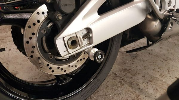 Motorcycle Rear Paddock Stand Bobbins - MGS Performance Engineering