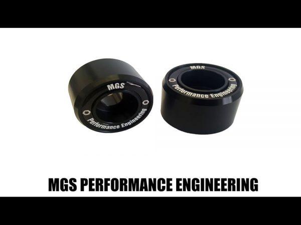 Motorcycle Crash Fork Protector Bobbins - MGS Performance Engineering