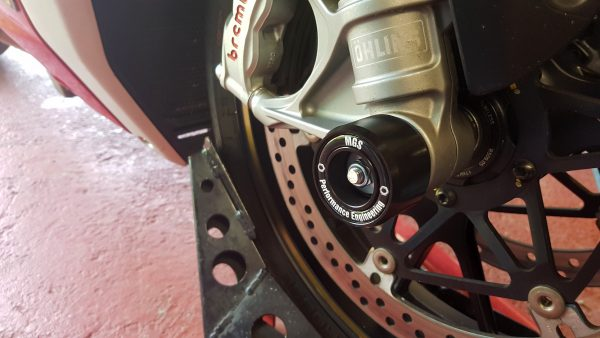 Motorcycle Fork Protector Bobbins - MGS Performance Engineering