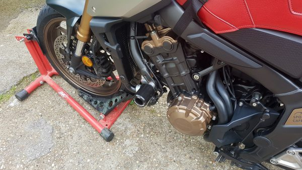 MGS Performance Engineering Motorcycle Crash Protection